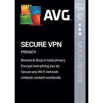 AVG VPN for 5 Multi Device 1 Year